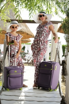 Set Salopete Summer mama-fiica
