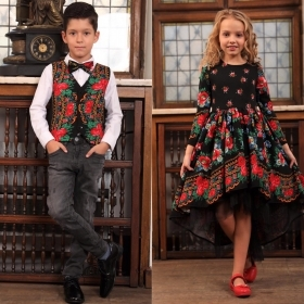 Set Frate & Sora Traditional-Elegant – Negru