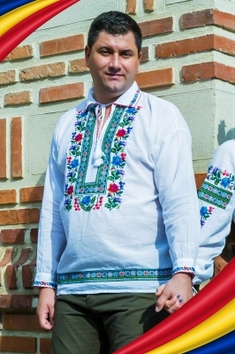 Camasa Traditionala Barbat - Verde